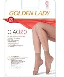 Golden Lady Ciao 20 (носки 2 пары)