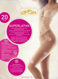 Omsa Superlativa 20 (бесшовные)